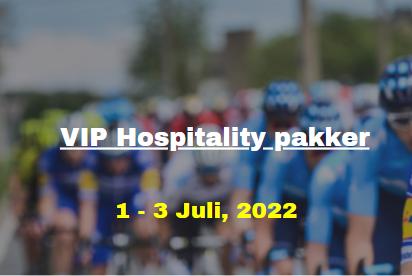 Tour De France Grand Départ 2022 VIP Hospitality Pakker Header